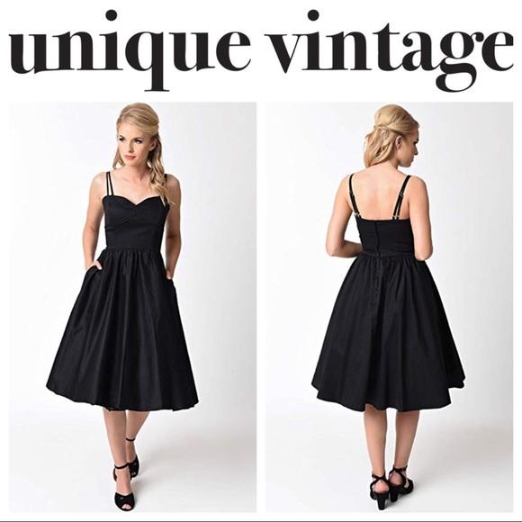 972649e7dd32 Unique Vintage Dresses   1940s Cotton Luna Swing Dress   Poshmark
